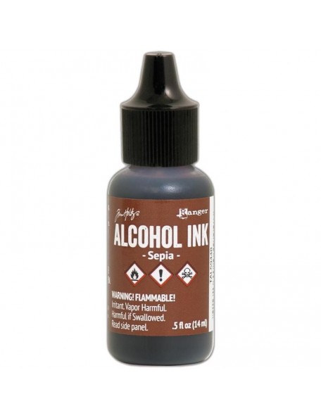 Tim Holtz Alcohol Ink .5oz, Sepia