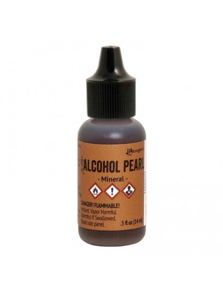 Tim Holtz Alcohol Pearls .05oz, Mineral