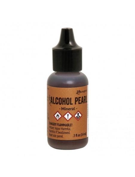 Tim Holtz Alcohol Pearls .05oz, Mineral