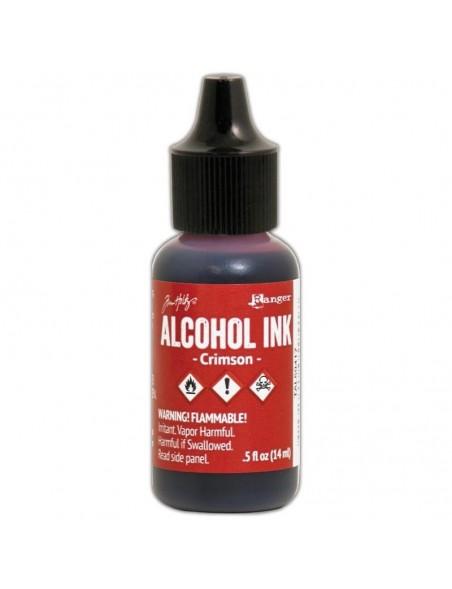 Tim Holtz Alcohol Ink .5oz, Crimson