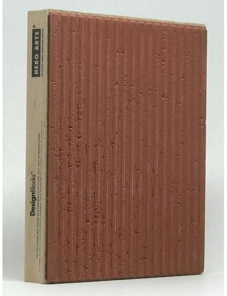 Hero Arts sello de madera con rayas