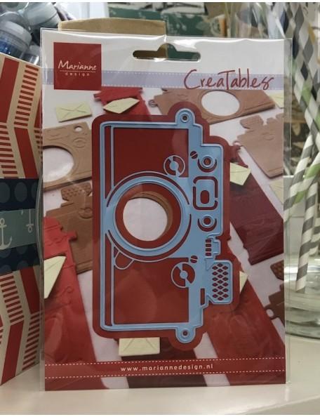 "Marianne Design Creatables Cámara troquel/Dies Camera, 4.25""X2.25"""