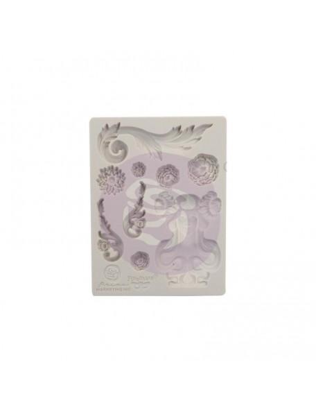 """prima marketing Finnabair Decor moldes/Moulds 3.5""""X4.5"""", Fairy Garden"""