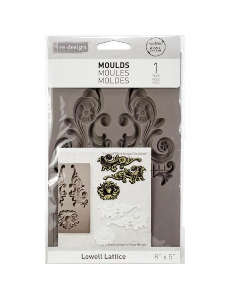 Prima Re-Design Decor moldes/Mould-Lowell Lattice