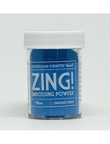 American Crafts Zing! Opaque Embossing Powder 1Oz-Wave