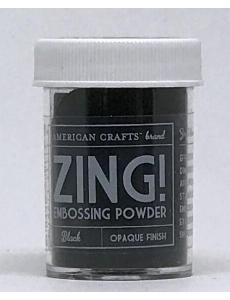 American Crafts Zing! Opaque Embossing Powder 1Oz Black