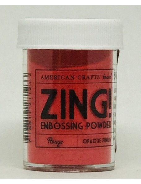 American Crafts Zing! opaque finish Embossing Powder1oz, Rouge