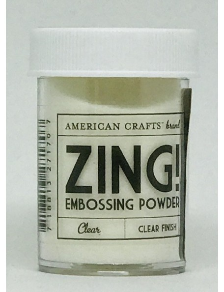 American Crafts Zing! Embossing Powder 1Oz Clear