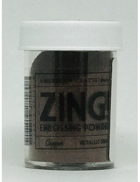 American Crafts Zing! Metallic Embossing Powder 1Oz-Copper
