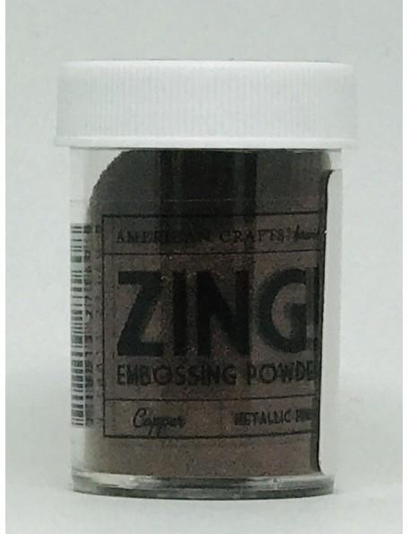 American Crafts Zing! Metallic Embossing Powder 1Oz-Copper