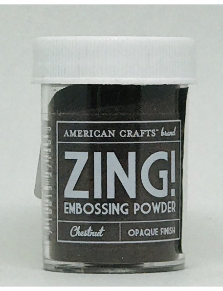 American Crafts Zing! Opaque Finish Chestnut
