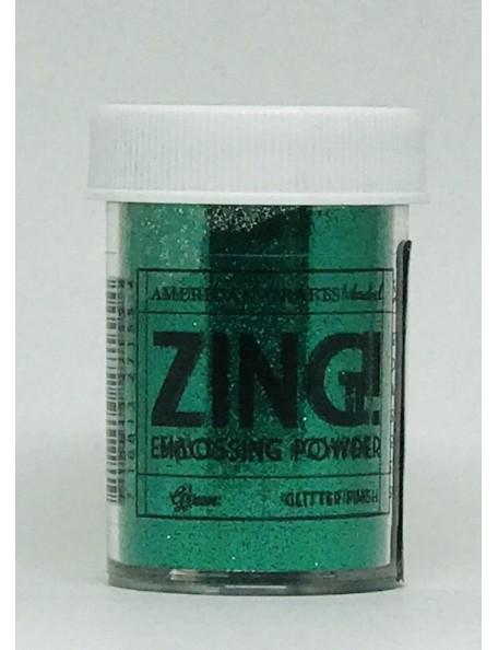 American Crafts Zing! Glitter Embossing Powder 1Oz Green