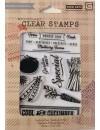 hero arts basic grey sellos reposicionables, herbs and honey