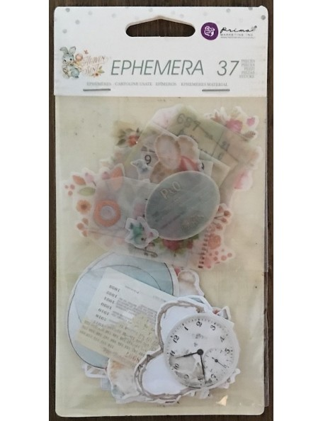 prima marketing Heaven Sent Ephemera recortables/Die-Cuts 35 pzas