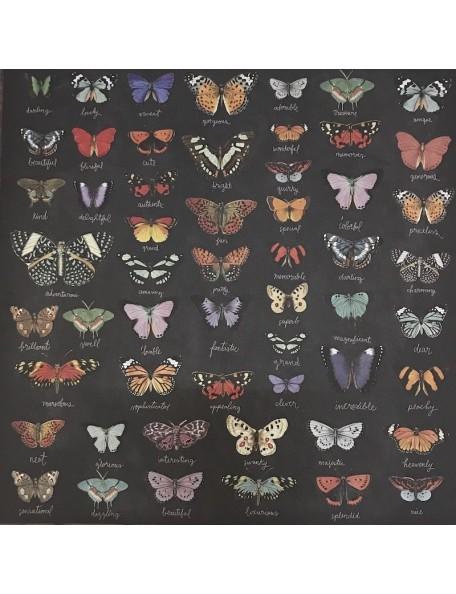 "Prima Marketing Forever Green Cardstock de doble cara 12""X12"", spread your wings"