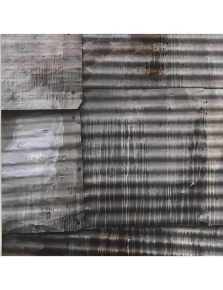 """Papel Corrugated Iron - """"Base Coat"""", Kaisercraft"""