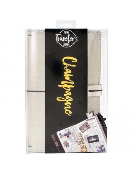 Prima marketing Traveler's Journal Starter Set, Champagne