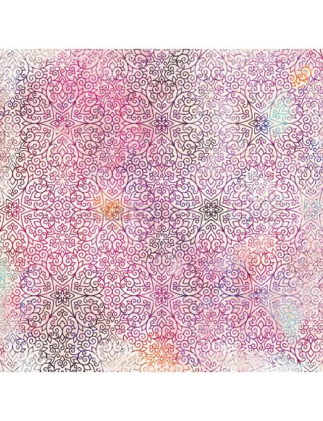 alexandra renke cardstock de una cara 30,5x30,5 cm, Summerfeeling estrellas orientales/orientalisch Sterne aubergine