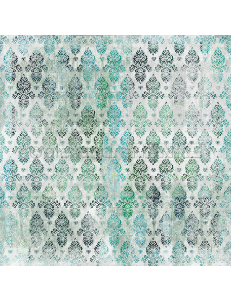 Alexandra Renke, verde azul oriental/Summerfeeling orientalisch blau grün