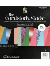 """DCWV Cardstock Stack de doble cara 12""""X12"""" 24 Hojas Complementary Colors"""
