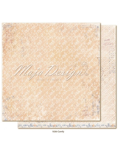 "maja design Denim & Girls Cardstock de doble cara 12""x12"", no doubt"