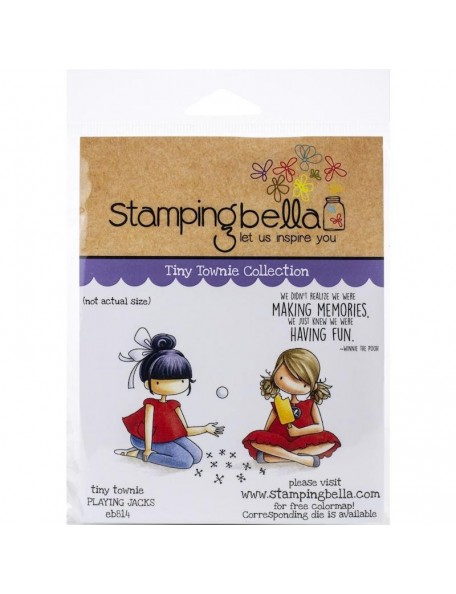 Stamping Bella Sello/Cling Stamps, Playing Jacks