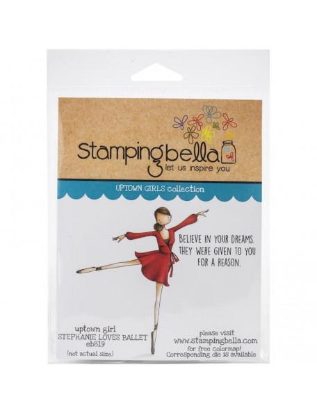 Stamping Bella Sello/Cling Stamps, Stephanie Loves Ballet