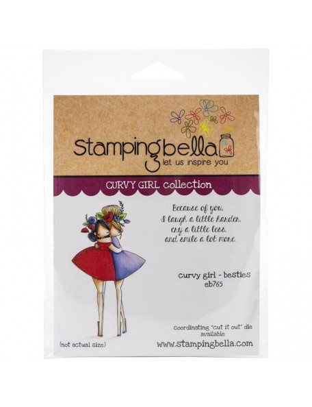 Stamping Bella Sello/Cling Stamps, Curvy Girl Besties