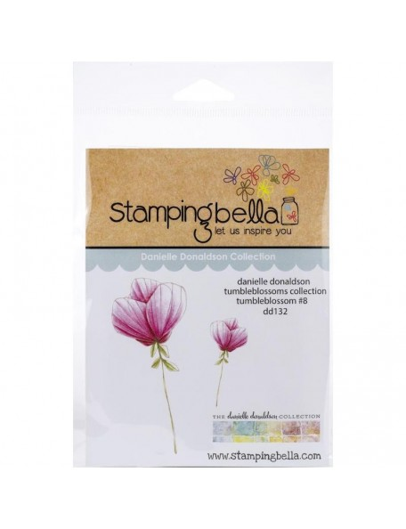 Stamping Bella Danielle Donaldson Stamps, Tumbleblossom No. 8