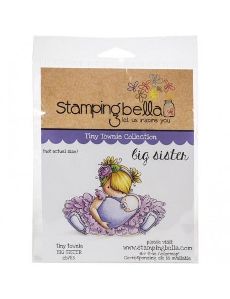 Stamping Bella Sello/Cling Stamps, Big Sister
