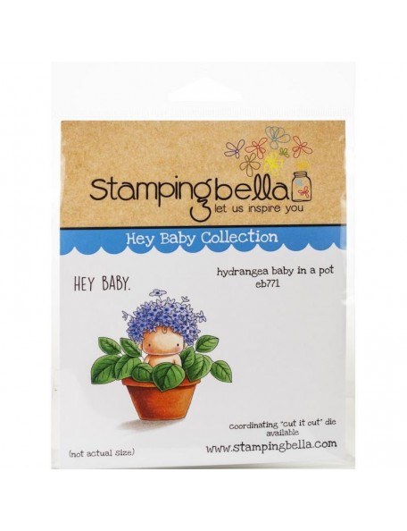 Stamping Bella Sello/Cling Stamps, Hydrangea Baby
