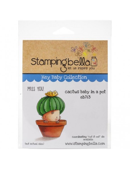 Stamping Bella Sello/Cling Stamps, Cactus Baby