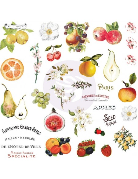 Prima Marketing Fruit Paradise Cardstock Ephemera 44