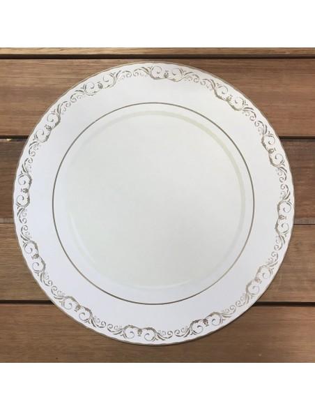 "Kaisercraft Bon Appetit Cardstock de doble cara 12""X12"", Plate"