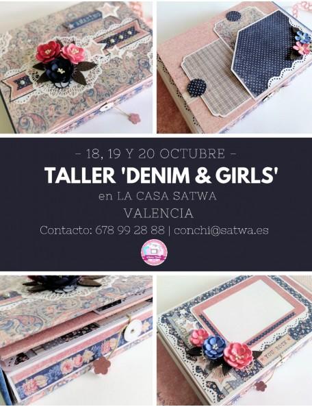 SATWA LLuna Nova Taller Denim & Girl