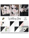 "DCWV Cardstock Stack de doble cara12""X12"" 36, Wedding Day"