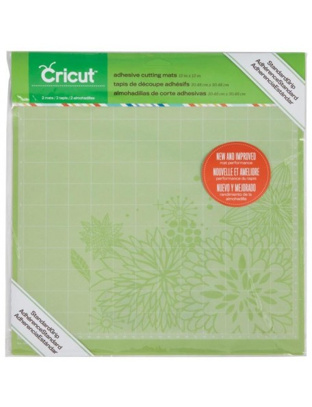 "Cricut Cutting Mats 12""X12"" 2, Matt Basico/StandardGrip"