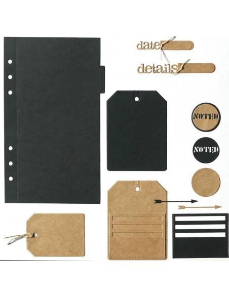 Elizabeth Craft Troquel/Metal Die, Planner Essentials 2