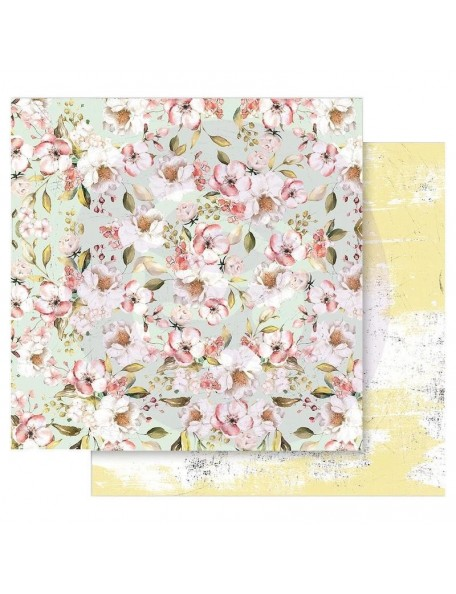 Prima Marketing Fruit Paradise Cardstock de doble cara 12X12, blooming season