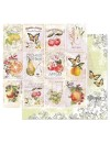 Prima Marketing Fruit Paradise Cardstock de doble cara 12X12, fruit lover