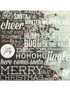 "Simple Stories Cozy Christmas Elements Cardstock de doble cara 12""X12"", Let it Snow"