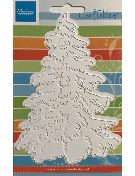 "Marianne Design Craftables Troquel Pino/Dies Pine Tree, 6""X4"""