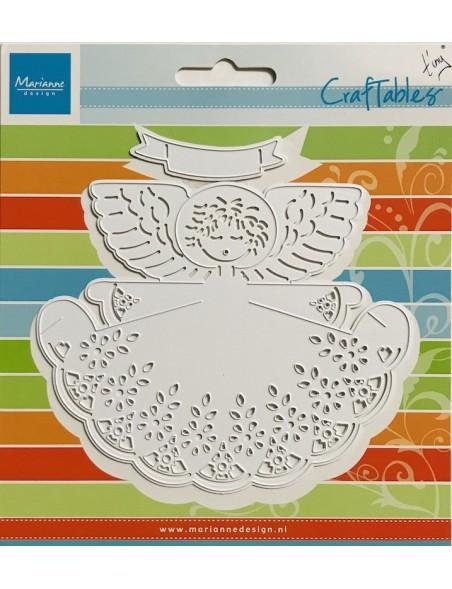 "Marianne Design Craftables troquel de Angel, 7"""