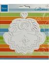 """Marianne Design troquel de Angel con Corazon, 7"""" DESCATALOGADO"""