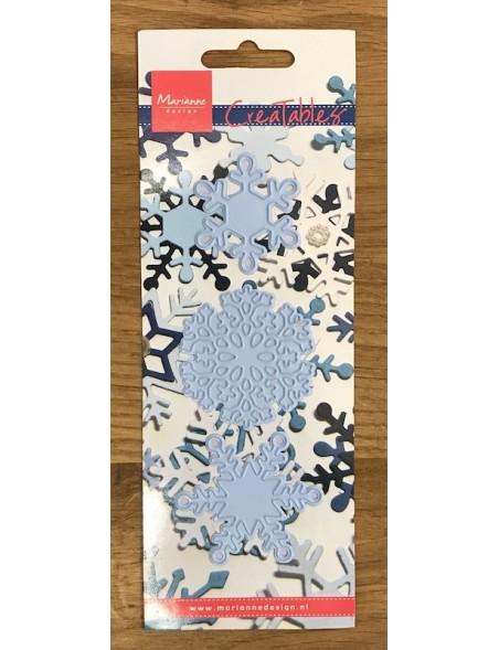 Marianne Design Creatables Troquel de Copos de Nieve