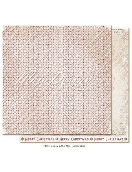 "Maja Design Holiday in the Alps Cardstock de doble cara 12""x12"", Celebration"