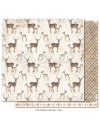 "Maja Design Holiday in the Alps Cardstock de doble cara 12""x12"", Deers"