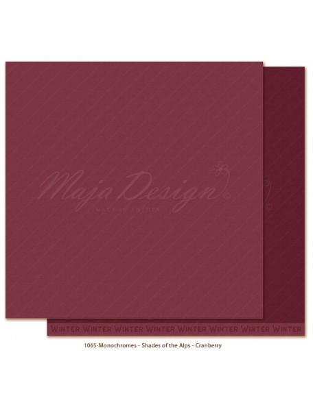 Maja Design Monochromes Shades of the Alps Cranberry