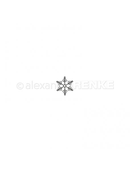 Alexandra Renke Troquel Schneeflocke Nadja