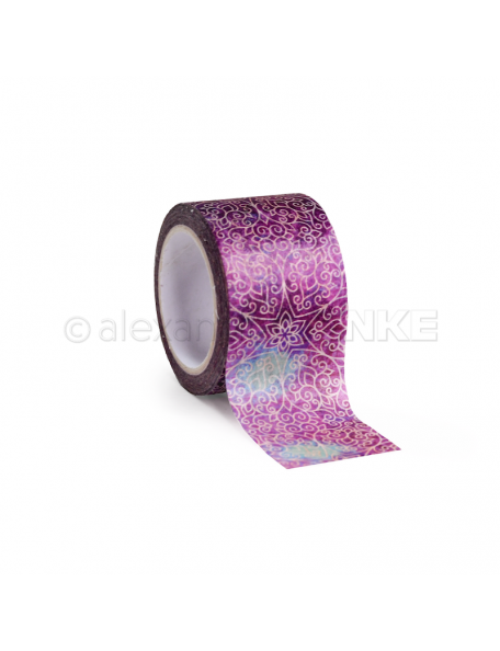 Alexandra Renke Washi Tape Oriental Stars Purple, 30mm x 10m